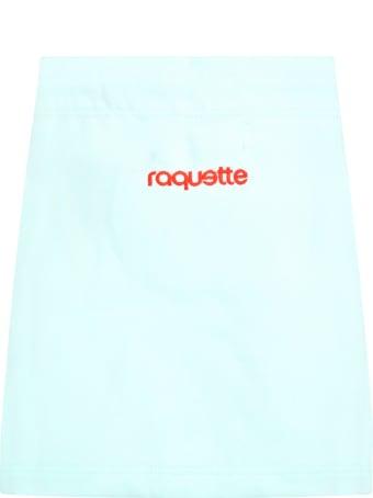 Raquette Teal Skirt For Girl