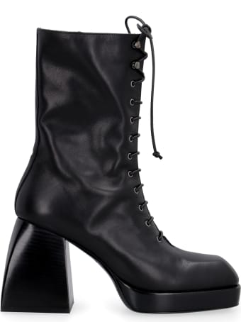 Nodaleto Bulla Lace Up Leather Lace-up Boots