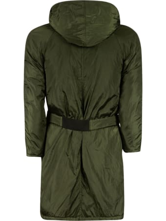 Kimonorain Belt Zipped Jacket