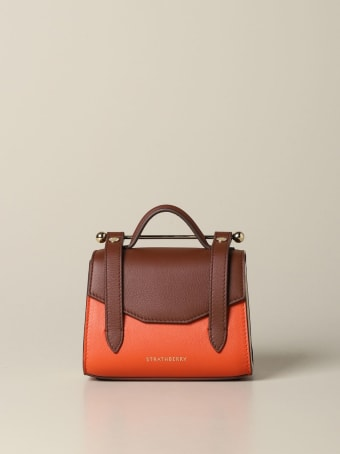 Strathberry Mini Bag Allegro Micro Strathberry Handbag In Tricolor Leather
