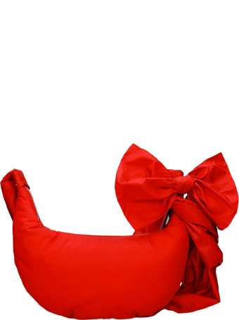 RED Valentino Shoulder Bag In Red Nylon