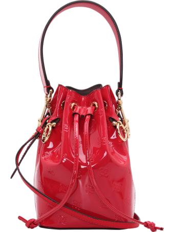 Fendi Leather Bucket Bag