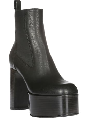 Rick Owens Kiss Ankle Boots
