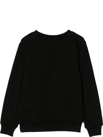 MSGM Black Cotton Sweatshirt
