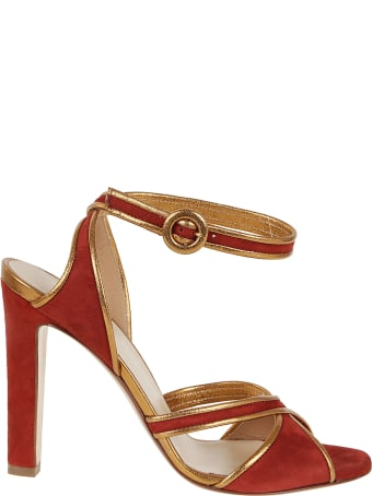 Francesco Russo Suede / Nappa Leather Sandals