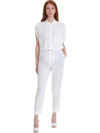 Brag-Wette Shirt In White Cotton