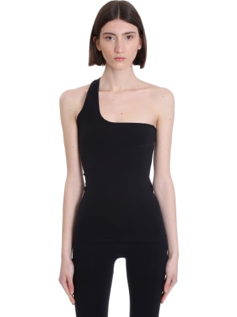 Helmut Lang Topwear In Black Nylon