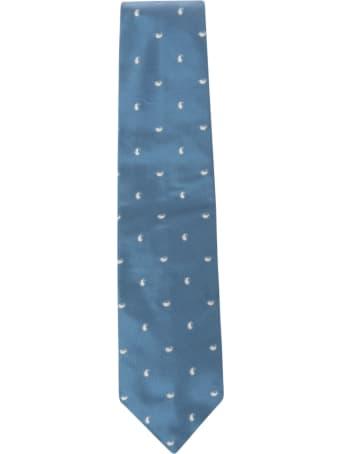 Eddy Monetti Paisley Print Neck Tie