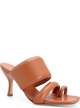 GIA COUTURE 'perni 10' Leather Sandals