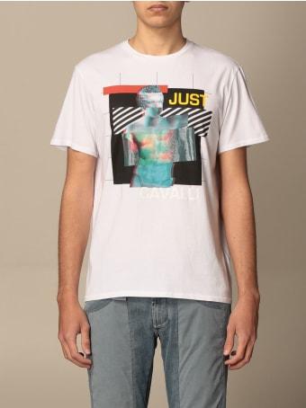 Just Cavalli T-shirt Just Cavalli T-shirt With Tiger Print