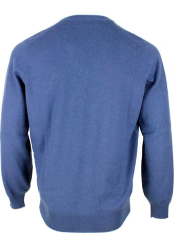 Brunello Cucinelli 100% Cashmere V-neck Sweater