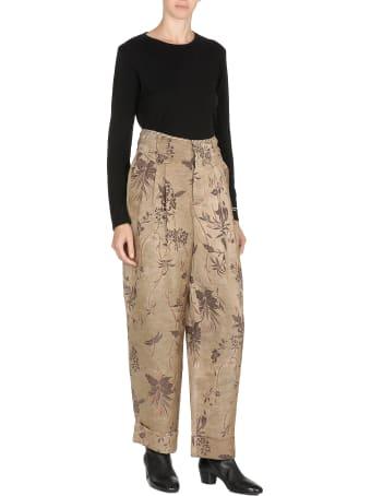 Uma Wang Linen Blend Trousers