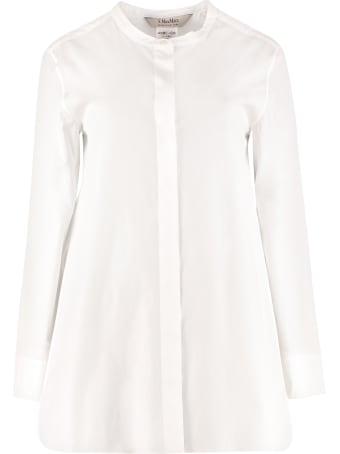 'S Max Mara Eritrea Cotton Poplin Shirt