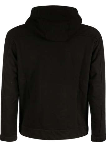 C.P. Company Diagonal Fleece Hooded Sweatshirt