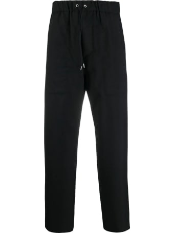 OAMC Black Virgin Wool Trousers