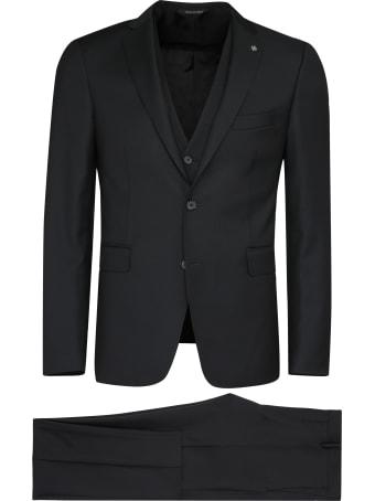 Tagliatore Three-piece Virgin Wool Suit