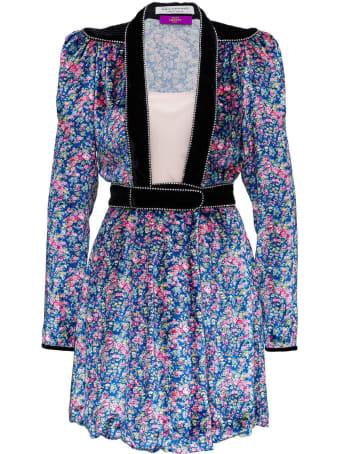 Philosophy di Lorenzo Serafini Floral Dress In Viscose Blend