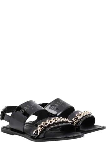 Balmain Sandals With Chain Detail