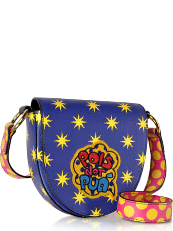 Alessandro Enriquez Mini Hebe Pop Pois Leather Shoulder Bag