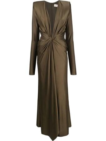Alexandre Vauthier Bronze Gown