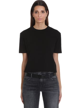 RTA T-shirt In Black Cotton