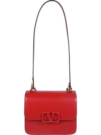Valentino Logo Plaque Shoulder Bag