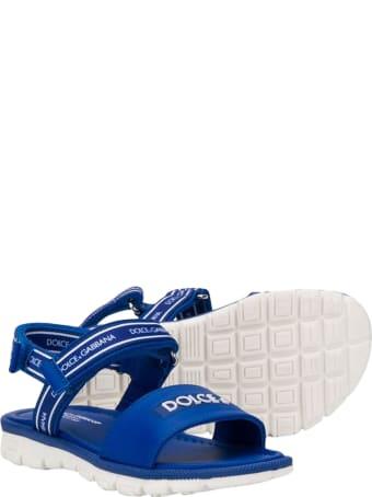 Dolce & Gabbana Velcro Sandals