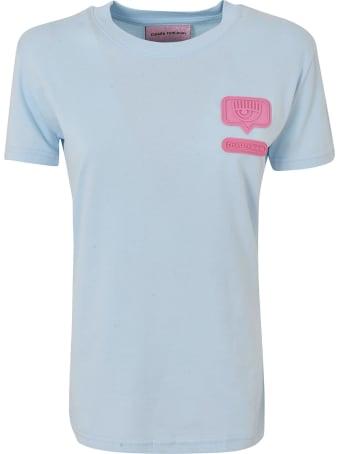 Chiara Ferragni Logo Patched T-shirt