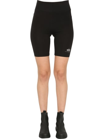 Alpha Industries Cyclist Shorts With Logo