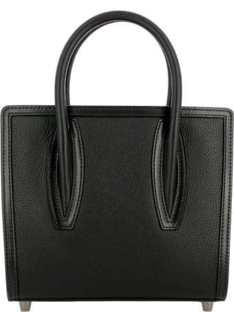 Christian Louboutin Black Leather Paloma S Mini Bag
