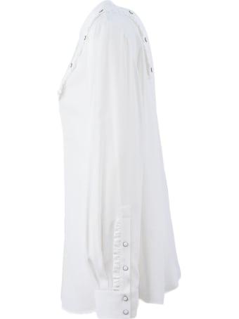 N.21 White Silk Blend Shirt
