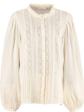 Mes Demoiselles Morgan Long Sleeve Cotton Shirt