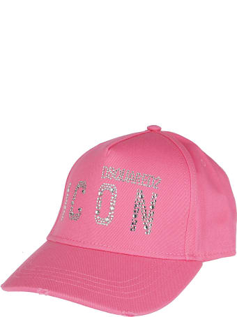 Dsquared2 Pink Cotton Cap