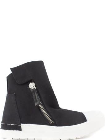 Cinzia Araia Black Canvas High Top Sneakers