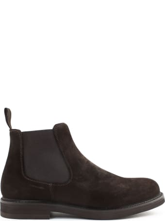 Berwick 1707 Brown Suede Ankle Boot