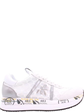 Premiata Conny 4618 Leather Sneakers