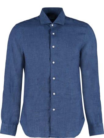 Barba Napoli Linen Shirt