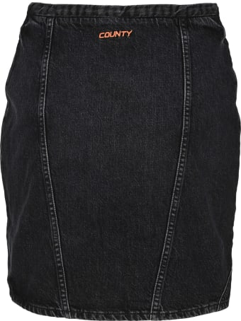 Marcelo Burlon Denim Mini Skirt