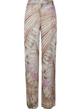 Blumarine Long Printed Trousers