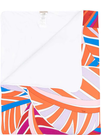 Emilio Pucci Emilio Pucci Kids Multicolored Blanket