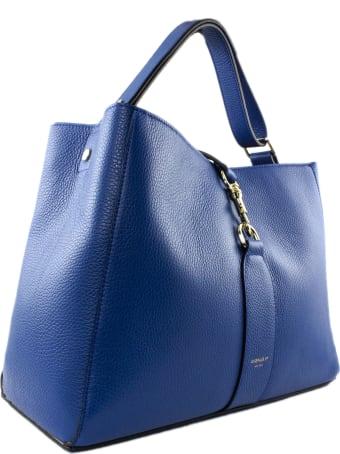 Avenue 67 Annetta Blue Leather Bag