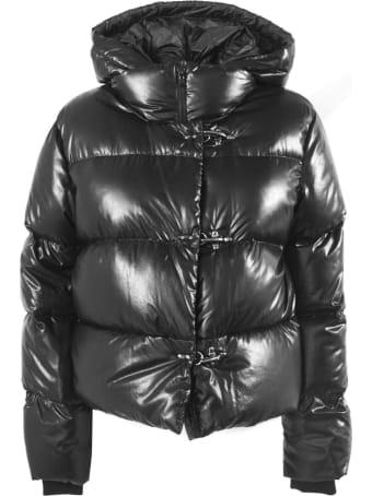 Fay 3 Hooks Black Down Jacket