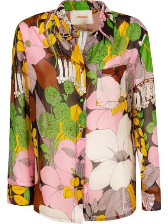 La DoubleJ Chiffon Floral Print Shirt