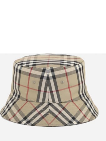 Burberry Vintage Check Cotton Fisherman Hat