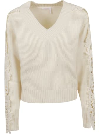 See by Chloé Knit And Lace