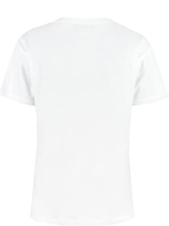 Giada Benincasa Embroidered Cotton T-shirt