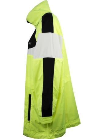 DKNY Reflective Yellow Windbreaker
