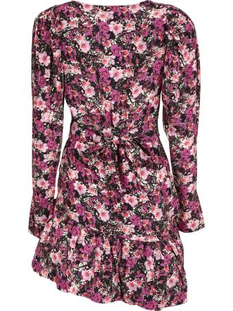 Rotate by Birger Christensen Nancy Floral Print Wrap Dress