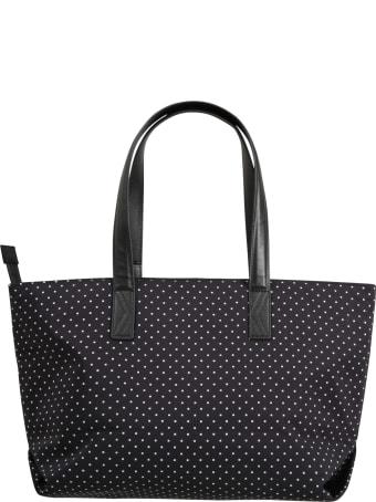 Karl Lagerfeld Kids Black Bag For Girl With Logo