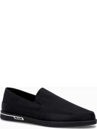Prada Side Logo Loafers From Prada